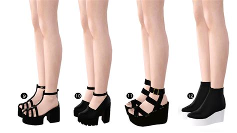 sims 4 platform heels simming ts3
