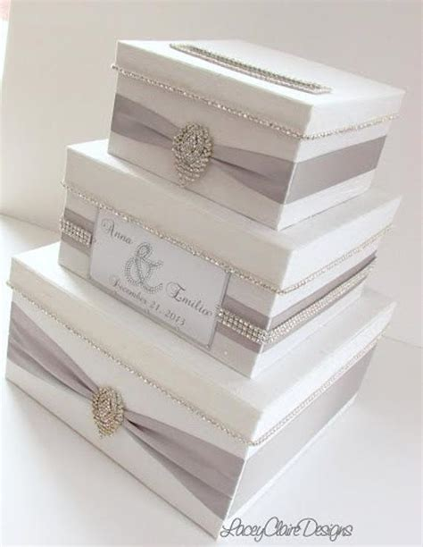 how to make a wedding reception card box wedding card box bling card box money holder box with