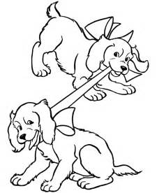 pictures of puppies to color best coloring page dogs and puppies coloring pages free