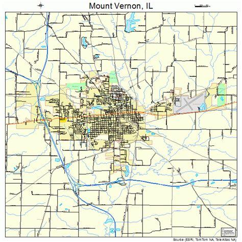chaign il to mt vernon il mount vernon illinois map 1751180