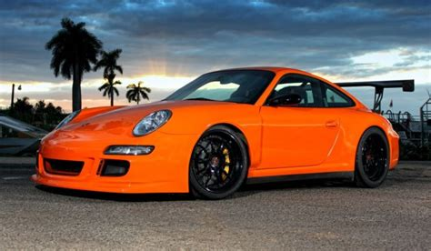 orange porsche 911 orange porsche 911 gt3 rs on r10 strasse forged wheels