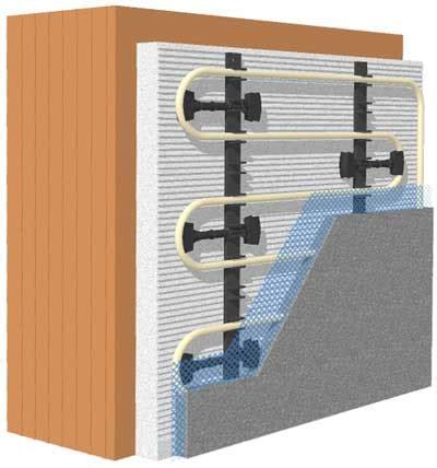 impianti radianti a soffitto riscaldamento e raffrescamento a parete