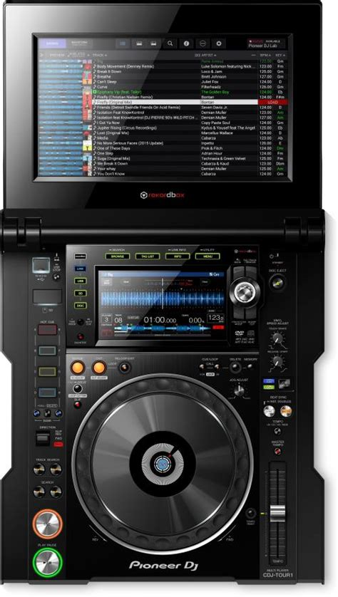 best pioneer cdj pioneer cdj tour1 tour system multi player with fold out