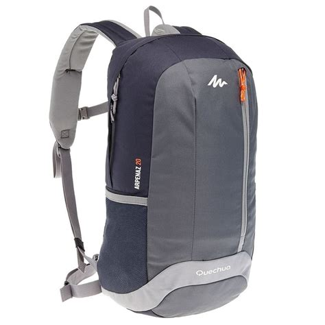 Daypack Quechua Arpenaz 20l arpenaz 20l hiking backpack black grey decathlon