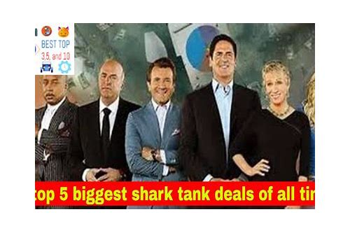 best deals shark tank