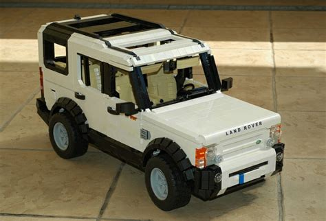 lego range rover lego land rover discovery 3 is extremely faithful to the