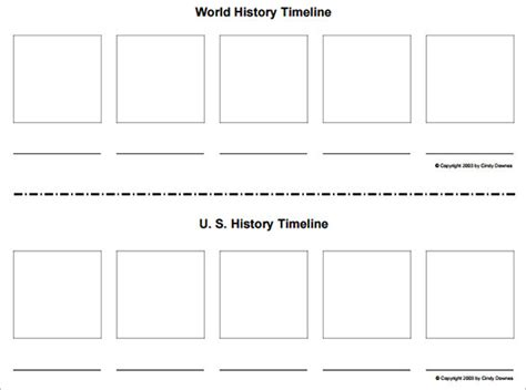 template for history blank timeline template 40 free psd word pot pdf