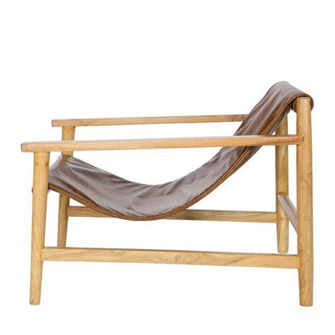 fauteuil en bois fauteuil bois et cuir mzaol