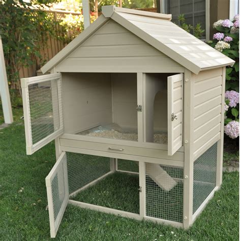 Bunny Hutch Outdoor Rabbit Hutch In Pet Pens