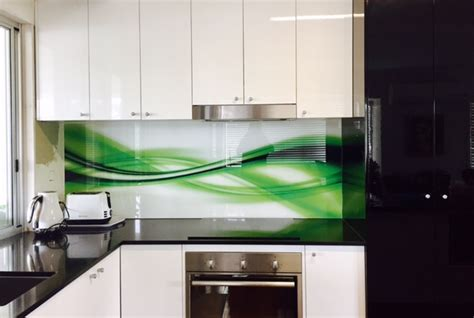 kitchen glass backsplash with digital printing made of custom printed glass kitchen splashbacks for your kitchen