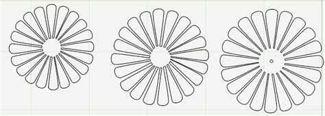 imgs for gt daisy flower pattern cut out