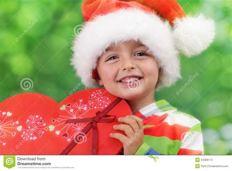 images of christmas excitement christmas presents stock images image 34389174