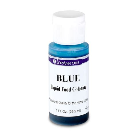 blue food coloring food coloring blue 30ml d f kit components science
