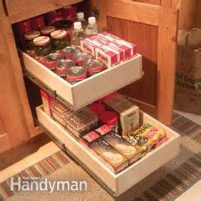 Kitchen Cabinet Rollouts by Organize Kitchen Storage With Kitchen Cabinet Rollouts