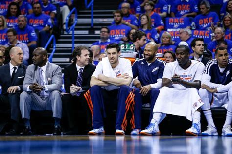 okc thunder bench the thunder go bench shopping 187 the sports post