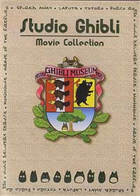 ghibli film numbers studio ghibli 17 movies dvd deluxe collection hayao