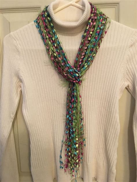pattern for trellis yarn scarf 17 best images about trellis ladder ribbon necklaces
