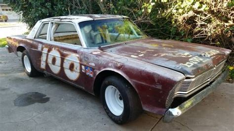 old nascar race car barn finds 1966 ford galaxie vintage racer