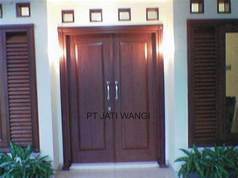 model pintu rumah minimalis inspirasi desain rumah