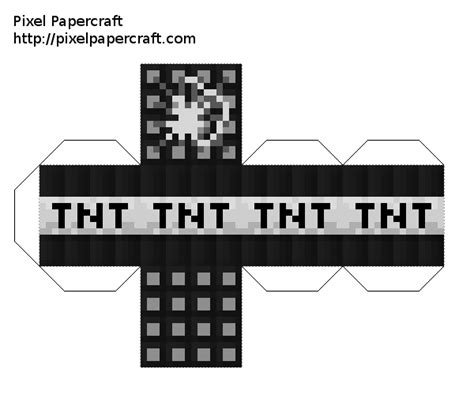 Minecraft Tnt Papercraft - minecraft papercraft tnt 28 images papercraft much tnt