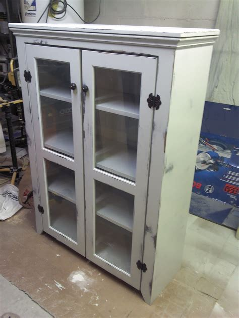 Jelly Cabinet With Glass Doors Rustic Cabinet Pie Childcarepartnerships Org