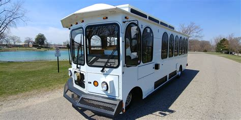 Affordable Limo by Trolley Rentals In Grand Rapids West Michigan Affordable