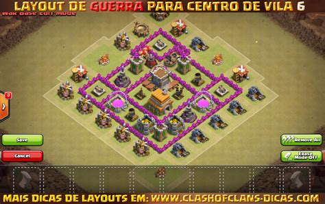 layout cv guerra 6 layouts para centro de vila 6 em guerra clash of clans dicas