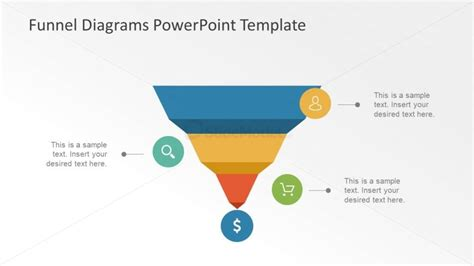 Useful Funnel Shapes For Business Analysis Slidemodel Funnel Diagram Powerpoint Template