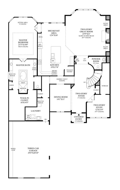 homes renaissance floor plan