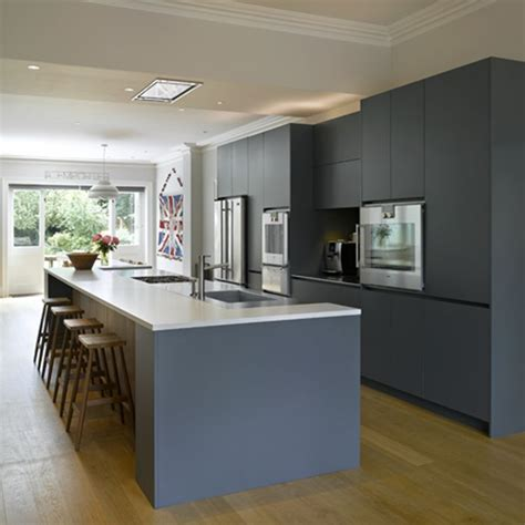 contemporary island kitchen roundhouse bespoke kitchen island in contemporary kitchen