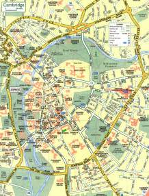 Cambridge England Map by Cambridge Street Map Cambridge England Mappery