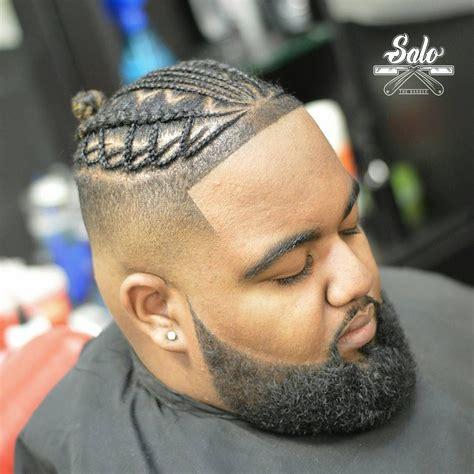 black man with braided hair black men braids with beard black men beard styles