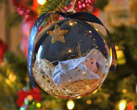baby jesus ornament one artsy mama