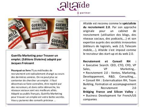 Entretien Cabinet De Recrutement Questions by Altaide Comment Booster Sa Recherche D Emploi L