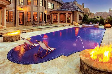 Accent Colors by Glass Tile Swimming Pool Designs Luxury Pools