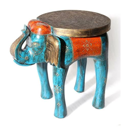 Elephant End Table by Blue Elephant Table Coffee Table End Table Side Table