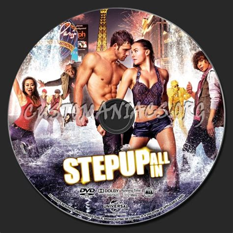 Kaset Dvd Step Up All In step up all in dvd label dvd covers labels by