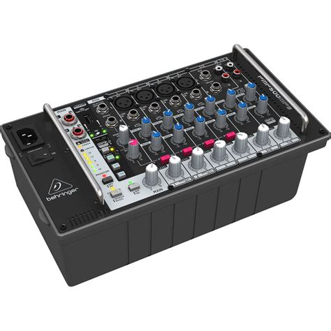 Power Mixer Behringer 12 Channel behringer europower pmp500mp3 500w 8 channel powered pmp500mp3