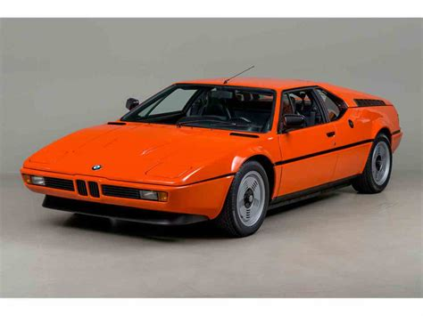 Bmw M 1 by 1980 Bmw M1 For Sale Classiccars Cc 816832