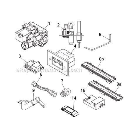 majestic wdvst500 parts list and diagram