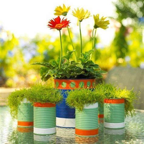 imagenes de flores reciclables macetas recicladas para el jard 237 n elblogverde com