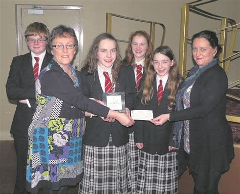 ulster bank mallow successful secondary schools quiz for lions
