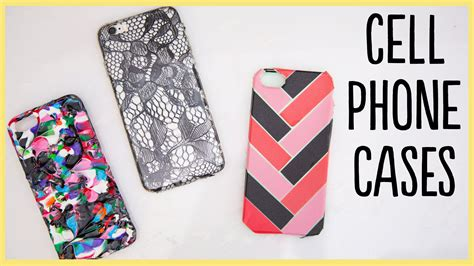 Handmade Cell Phone Covers - diy cell phone cases and easy