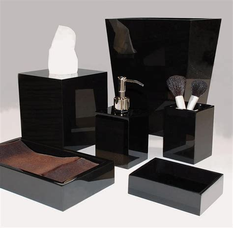 Black Bathroom Accessories 4 Bathroom Accessories Black