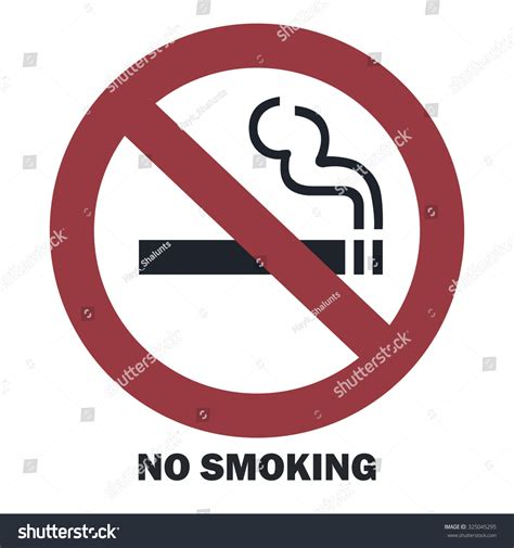 no smoking sign free vector no smoking sign vector illustration 325045295
