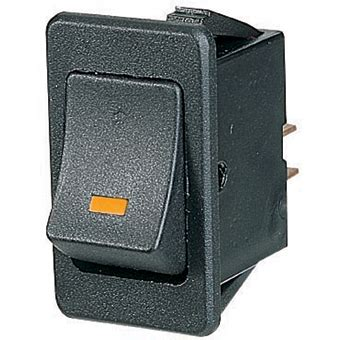 rocker 12v amber illuminated rocker switch 4 blade terms.
