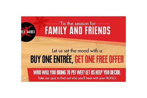 pei wei coupon jan 2018