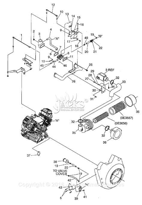 carb diagram generac 005058 1 gtv760 parts diagram for carburetor air