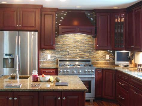 cranberry kitchen cabinets henderson jamestown cherry cranberry kitchen traditional kitchen other metro by