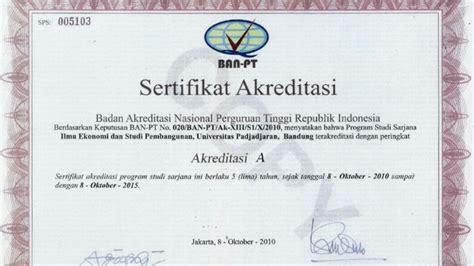 Surat Keterangan Akreditasi Untuk Cpns by Akreditasi Ban Pt Universitas Terbuka Lengkap